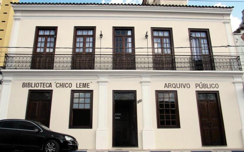Biblioteca Municipal Chico Leme Itatiba SP