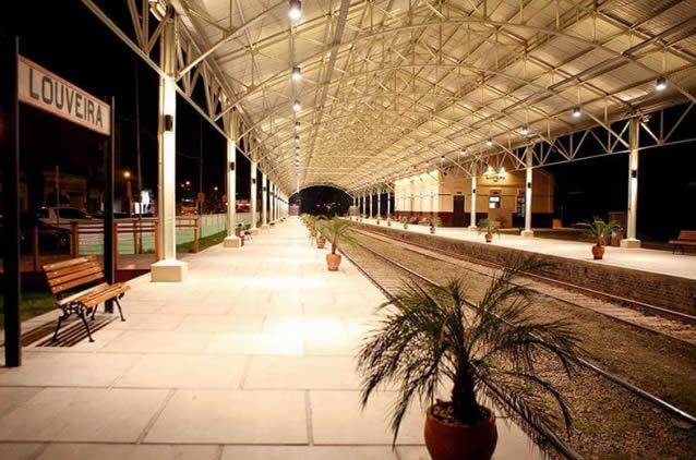 Estação Ferroviária de Louveira SP