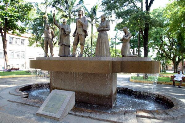 Monumento à Fundação Salto SP
